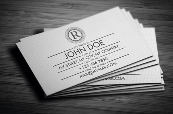 Gift Style Business Card Design