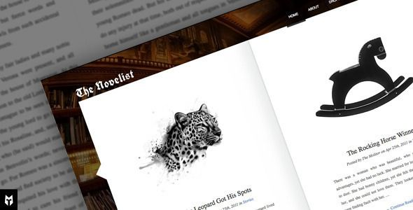The Novelist - Responsive WP Theme for Writers