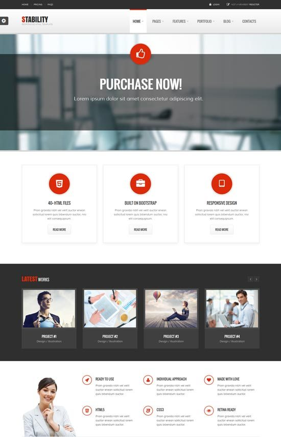 Stability-Responsive-Business-Template