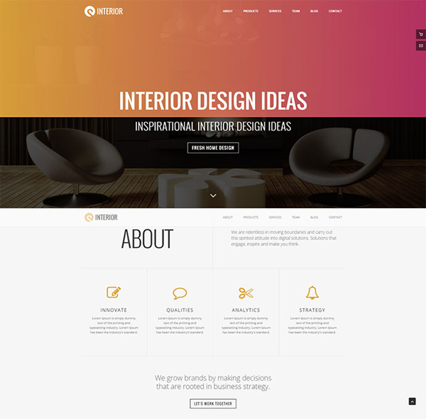 Sturlly Responsive One Page Multipurpose Template