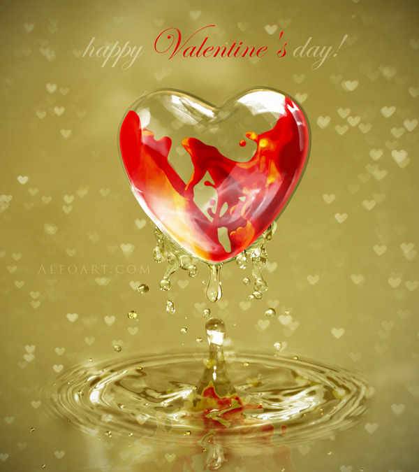 How To Create A Valentine's Day Card in Adobe Photoshop