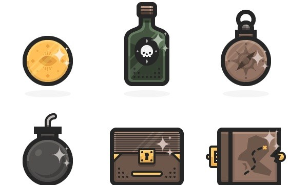 How to Create a Set of Mini Pirate Icons in Adobe Illustrator