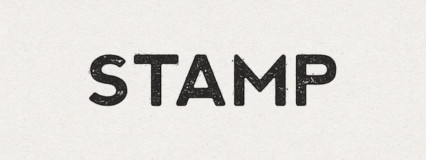 How to Create an Ink Stamp Text Effect with Illustrator