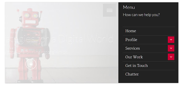 Building Great Mobile Menus for Your Website