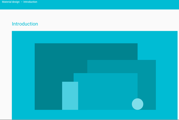 Introduction to Material Design