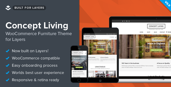 Concept Living - WooCommerce Furniture Theme