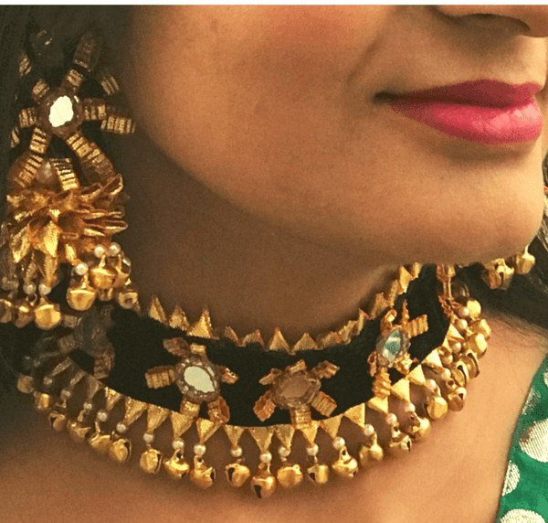 Points to Remember While Buying Gota Jewellery Online