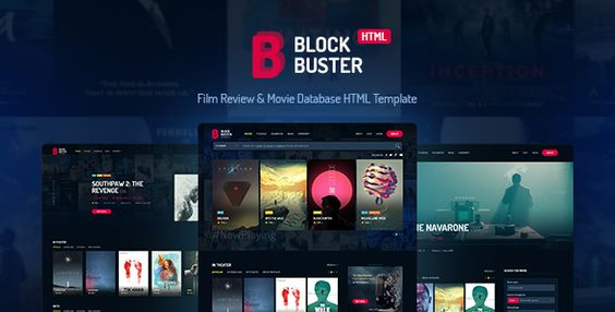 BlockBuster - Film Review & Movie Database HTML Template