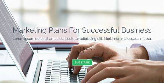 All In One Muse Landing Page Template